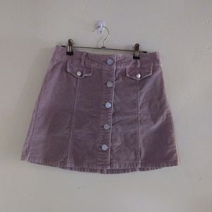 BDG Corduroy Mini Skirt